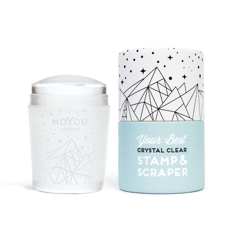 Crystal Clear Stamper & Scraper
