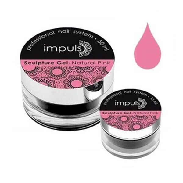 Sculpture Gel - NATURAL PINK (15ml)